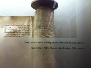 The words of Hanina ben Teradyon